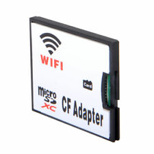 Micro SD TF to CF WIFI Memory Card Adapter Compact Flash Card Kit F DSLR Camera