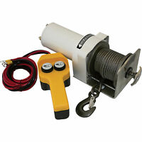 Endurance Marine Stainless Steel Cable Winch- 1.5 HP 2,000 lb Cap #EMD2000SS