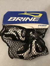 Black And White Brine Tyro Youth Lacrosse Gloves 8� Small
