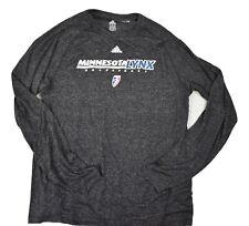 adidas Mens WNBA Minnesota Lynx Basketball Climalite Shirt New M