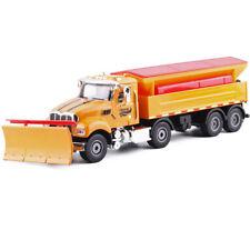 Detail Up 1:50 Mack Heavy Snow Plough Cleaner Truck Snowplow Diecast model Nib