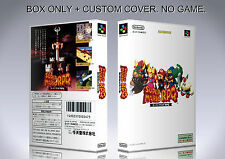 SUPER MARIO RPG. JAPAN. Box/Case. Super Nintendo. BOX + COVER. (NO GAME).