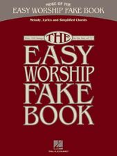MORE OF THE EASY WORSHIP FAKE BOOK SHEET MUSIC 100+ SONG BOOK