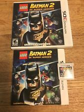 LEGO Batman 2 Nintendo 3DS Video Game mint complete with free shipping!