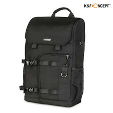 Camera Backpack Travel Bag Case Waterproof for Canon Nikon DSLR SLR K&F Concept