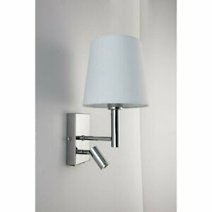 Phillipstown 2-Light LED Swing Arm Lamp with USB charging port RRP £57.99