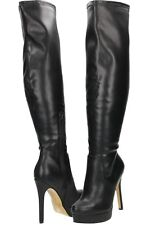 sexy Over The Knee Boots High Heel Stiletto Platform size UK 4.5/37.5 luster puA