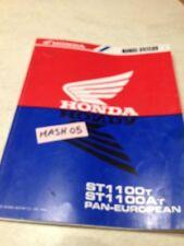 supplément manuel atelier Honda ST1100A ST 1100 T ST1100 paneuropean Shop manual