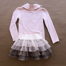 Stella McCartney GAP Kids Pink Turtleneck Top Ombré Tutu Skirt Outfit 4 5 5Y