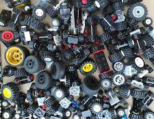 LEGO® 50 Reifen Räder - 25 Achsen Fahrzeuge Auto Kg City Sammlung Konvolut Lego