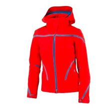 Spyder Portillo Legend Red Blue Ski Snowboard Women's Coat Jacket 10
