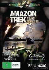 AMAZON TREK IN SEARCH OF VANISHING SECRETS DVD Documentary (NEW & SEALED)