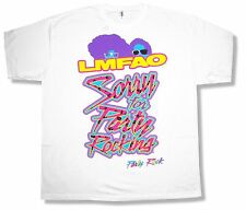 LMFAO Sfpr White T Shirt New Official Sorry For Party Rocking