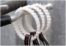 Motocross Wristband - Knobby - White (Mx Accessories)