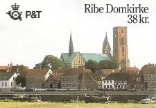 Denmark. SC # 835 Stained Glass, Ribe Cathedral .Complete Booklet .MNH