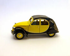 Citroen 2CV Charleston 1982, giallo-nero, NOREV, 1:64