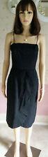 Vintage California GIGI 1960s Little Black Strap Dress Size 9-10 ?