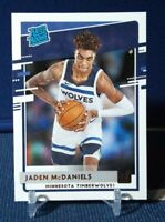2020-21 Donruss Jaden McDaniels Rated Rookie #239 Minnesota Timberwolves