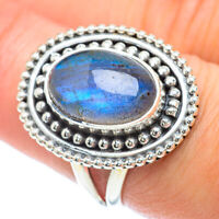 Labradorite 925 Sterling Silver Ring Size 8 Ana Co Jewelry R56438F