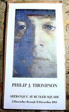 John Lennon Grid Art Philip J. Thompson Vintage Original 1983 Artbanque Poster