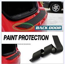 Rear Back Door Sill Scuff Plate Bumper Protector BMW 3 Series F30 2012-17 Black