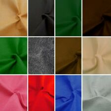100cm Felt Fabric Material Wide 1mm Thick 100% Polyester