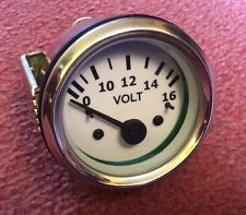 NEW VOLTMETER 52 MM Diameter , Classic / Kit Car