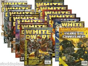 WHITE DWARF 1991 - 2010 ( No.133 - 367 ) Games Workshop  FREE UK POSTAGE