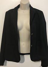 GAP Modern women's Dark Navy button up smart chic casual Blazer Jacket  size 14