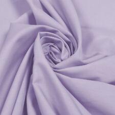 Plain Polycotton Lilac - Per Metre