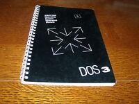 Atari Disk Operating System Reference Manual DOS 3 - no program