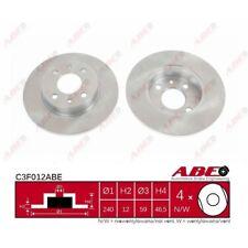 Bremsscheibe, 1 Stück ABE C3F012ABE