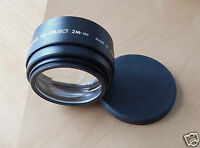 Star-D Auxiliary Lens Set Telephoto & Wide Angle SD 6602 Canon AF 35M