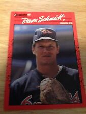 Donruss 1990 Dave Schmidt #524 Baltimore Orioles Major Leagues Modern (1981-Now)