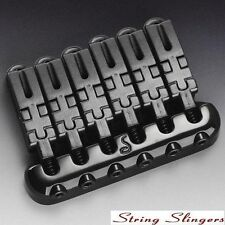 Schaller Hannes 6-string Guitar Bridge Black 12010400