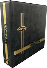 Album - #6 Fcd First Day Cover Binder 3 Layer Pages Hold 128 Envelopes Supersafe