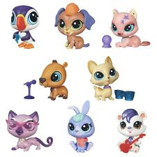 Littlest Pet Shop Pets in the City - SET OF 8 (Silky Rowler, Pup Tacaro, & more)