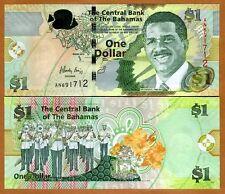 Bahamas, 1 dollar, 2015, Pick New UNC > Modified