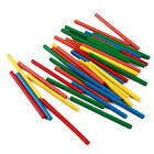 Colorful Bamboo Counting Sticks Mathematics Montessori Teaching Aids Count MP