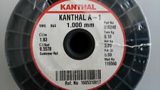 KANTHAL A-1   RESISTANCE WIRE  Diam. 1.000mm  -  Res. 1.83 Ohms/Meter (3.03Kg)