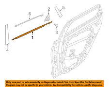 HYUNDAI OEM 2018 Elantra GT Rear-Window Sweep Belt Felt Molding Right 83220G3010