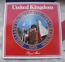 More details for 1985 coin set united kingdom royal mint brilliant uncirculated free uk p&p