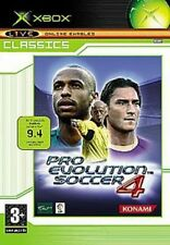 XBOX PRO EVOLUTION SOCCER 4 - PAL EXCELLENT CONDITION - FREE SHIPPING