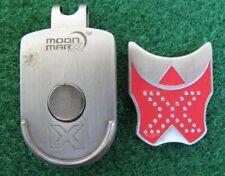 Moon Mra X golf ball marker hat clip