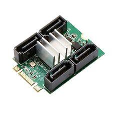M.2 B+M key to 4 port SATA III RAID Adapter Marvel 9230 Shipet