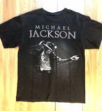 Pre Owned Michael Jackson T Shirt King Of Pop Used Billie Jean Thriller Bad Med