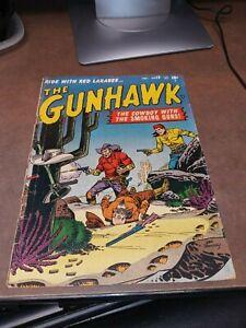 Gunhawk #18 atlas comics 1951 golden age precode western hero scarce final issue
