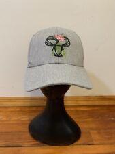 Tna Baseball Cap Gray 100% Cotton SnapBack One Size