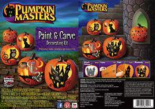 Pumkin Masters-Brand New Paint & Carve Pumpkin Decorating Kit - Carving Fun Kids