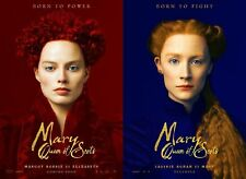 Mary Queen of Scots - original DS movie poster - 27x40 D/S Adv Set Robbie, Ronan